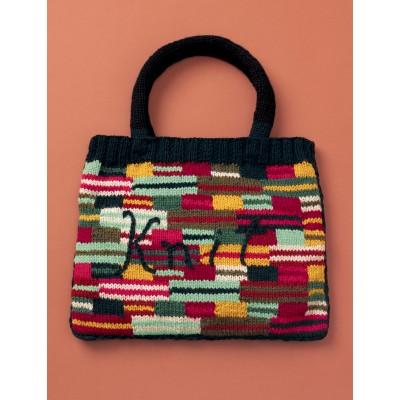 Patons Crazy Stripes Knit Bag