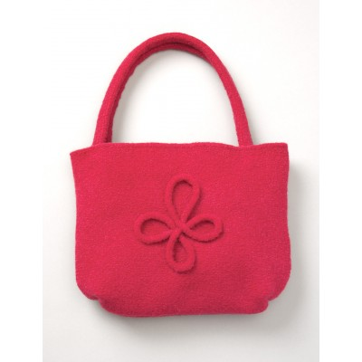 Patons Felted Bag with Motif Free Knitting Pattern