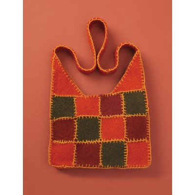 Patons Felted Patchwork Bag