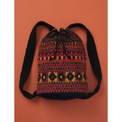 Patons Felted Tribal Duffle Free Knitting Pattern