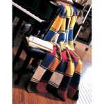 Patons Patchwork Strips Free Beginner Afghan Knit Pattern