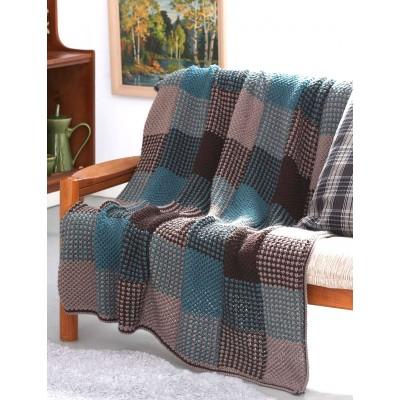 Free Free Plaid Blanket Knitting Patterns Patterns Knitting Bee