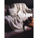 Patons Trellis Squares Blanket Free Knitting Pattern