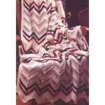 Patons Woven Look Afghan Free Easy Knit Pattern