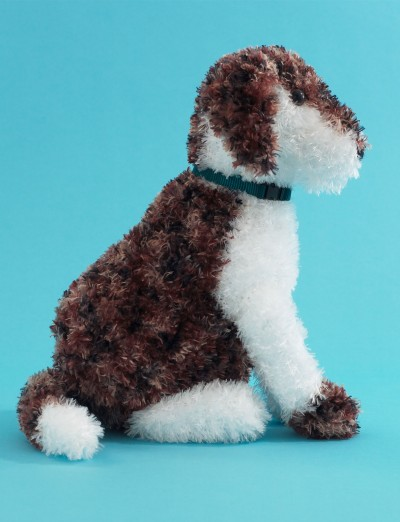 Petey The Puppy Free Intermediate Child S Toy Knit Pattern