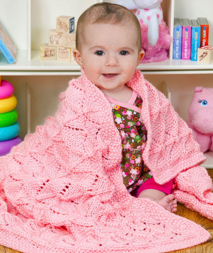 Precious Baby Blanket Free Knitting Pattern Knitting Bee