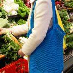 Provence Market Bag Free Knit Pattern