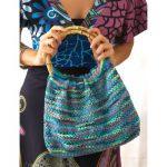 Psychadelic Hobo Bag Free Knitting Pattern