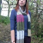Pure Linen Lace Scarf Free Knitting Pattern