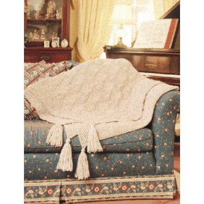 Diamond Afghan Knitting Pattern : Quick Diamond Free Afghan Knitting Pattern ? Knitting Bee