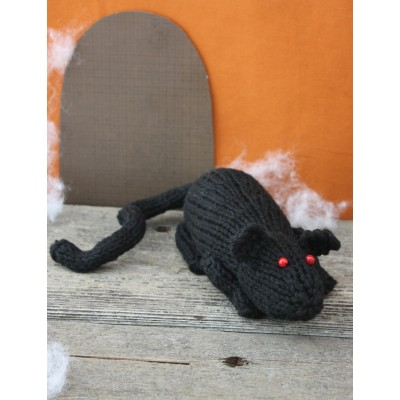 Rat Free Easy Toy Knit Pattern For Halloween