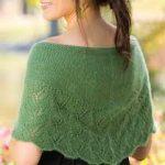 Rhea Capelet Free Knitting Pattern