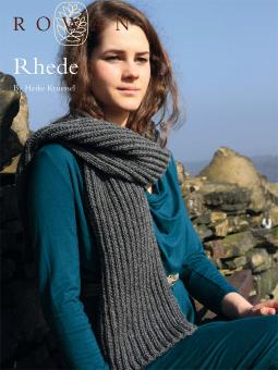 Rhede Ribbed Scarf Free Knitting Pattern