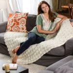 Ripples at Dawn Free knitting Blanket Pattern