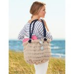 Sea Breeze Beach Bag Free Knitting Pattern
