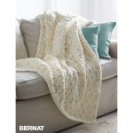 Seaside Lace Blanket Free Knitting Pattern