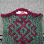 Slavic Star Hand Bag Free Knitting Pattern