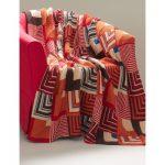 Southwest Geometric Blanket Free Intermediate Knit Pattern