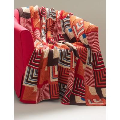 southwest-geometric-blanket-mitered-square-free-knit-pattern