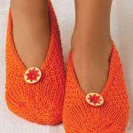Stitch Sampler Slippers