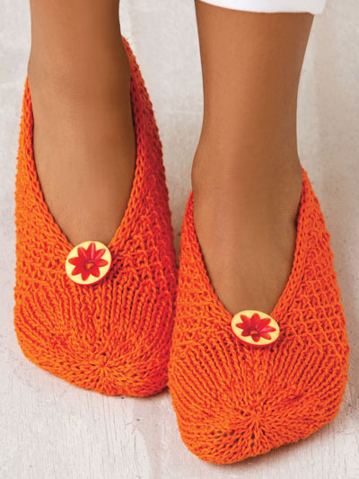 Stitch Sampler Slippers