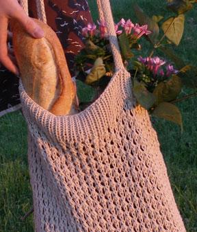Sundance Market Bag Free Knit Pattern