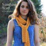 Sunshine Scarf Free Knitting Pattern