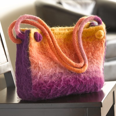 Sweet Curacao Bag Free Knitting Pattern
