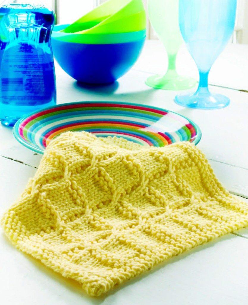 Swish with a twist free dishcloth knitting pattern knitting bee swish with a twist free dishcloth knitting pattern bankloansurffo Choice Image