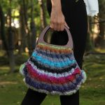 Taiyo Free Cabled Bag Noro Knitting Pattern