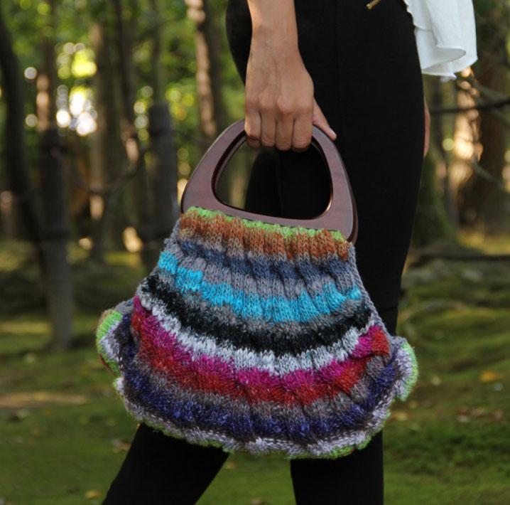Free variegated yarn bag knitting patterns Patterns ⋆ Knitting Bee ...
