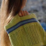 Textured and Seed Stitch Free Knitting Pattern