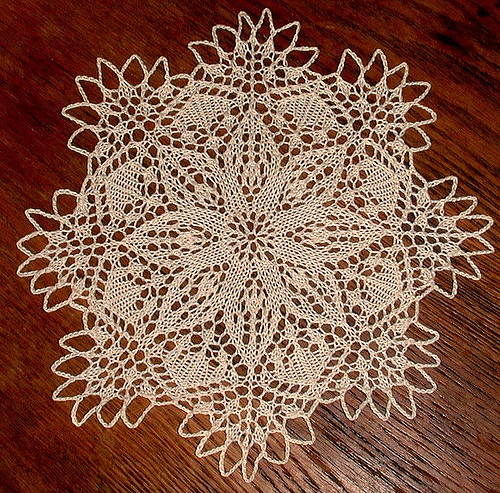 The Little Flower Doily Pattern Free Knitting
