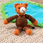 Tracy the Tiger Free Knitting Pattern