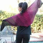 Transitional Shawl free knit pattern