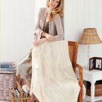 Treasure Chest Throw Free Knitting Pattern