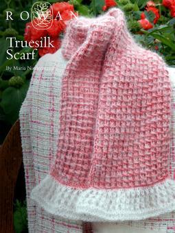 Truesilk and Kidsilk Haze Scarf Free Knitting Pattern