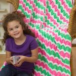 Wild Waves Throw Free Ripple Knitting Pattern