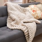 Wonderful Big Stitch Throw Free Knitting Pattern