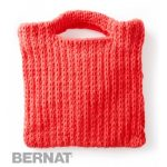 That's My Bag, Baby Free Beginner Women's Bag Knit Pattern