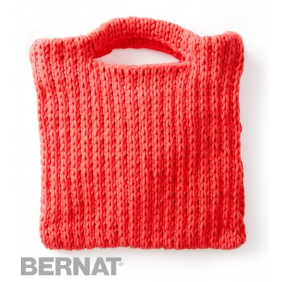That's My Bag, Baby Free Beginner Women's Bag Knit Pattern