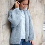Free Stockinette Stitch Jacket Knitting Pattern