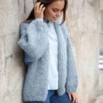 Free Stockinette Stitch Jacket Knitting Pattern