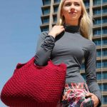 Supersoft Tote Free Knitting Pattern
