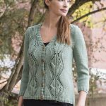 lace cardigan knitting pattern free