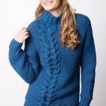 Bright Side Pullover Free Intermediate Women's Knit Pattern
