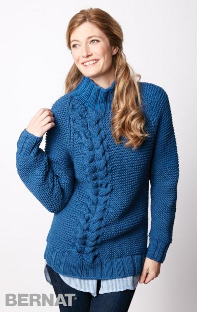 04347d8635521c Bright Side Pullover Free Intermediate Women s Knit Pattern ...