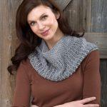 Charming Cowl Lace Knitting Pattern