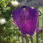 Chevron Lace Cowl Free Knitting Pattern