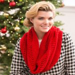 Christmas Cowl Free Knitting Pattern
